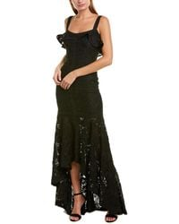 Alexis Vicenzo Gown - Black
