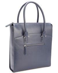 Royce New York Blocking Travel Carryall Laptop Case - Blue
