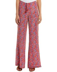 Figue Ipanema Silk Pant - Red