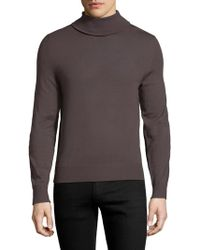 Zadig & Voltaire - Gold Patch M Roll Neck Jumper - Lyst