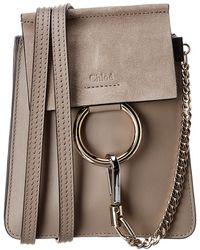 243a680256 Faye Small Leather & Suede Bracelet Bag - Multicolor
