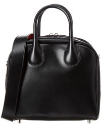 Christian Louboutin Marie Jane Small Leather Shoulder Bag - Black
