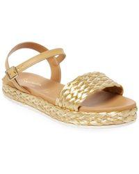Seychelles - Pre-game Metallic Sandal - Lyst