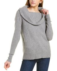 Forte Marilyn Cashmere-blend Pullover - Gray