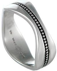 Georg Jensen Silver Ring - Metallic