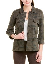 James Perse Military Jacket - Green