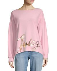 Juicy Couture Oversized Sweatshirt - Pink