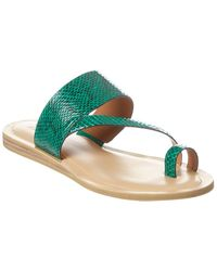 Franco Sarto Leila2 Leather Sandal - Green