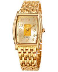 August Steiner Men's Alloy Watch - Metallic