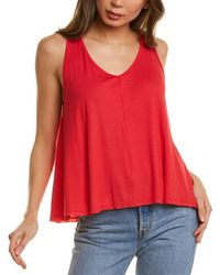 Project Social T If You Ever Rib Tank - Pink