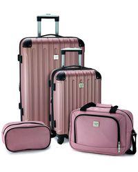 Geoffrey Beene Colorado 4pc Luggage Set - Multicolor
