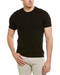 James Perse Back Palm Graphic T-shirt - Black