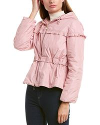 Moncler Down Raincoat - Pink
