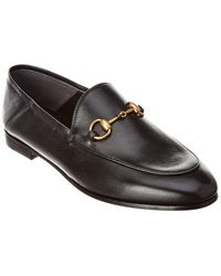 Gucci - Brixton Horsebit Leather Loafer - Lyst