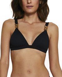 ViX Ibiza Bardot Top - Black