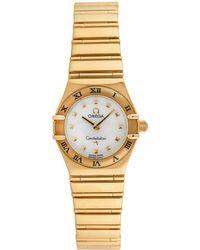 Omega Omega 1990 Women's Constellation Watch - Metallic