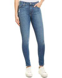 Joe's Jeans Betsey High-rise Crop - Blue