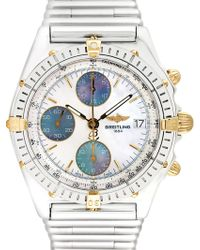 Breitling - Vintage Breitling Chronomat Vitesse Stainless Steel Watch, 40mm - Lyst