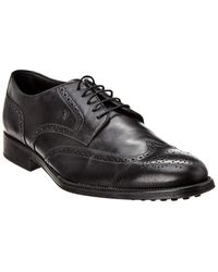 Tod's Tod?s Leather Derby - Black