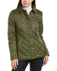 Barbour Exmoor Quilted Jacket - Green