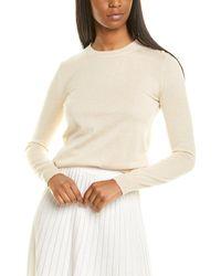 Max Mara Caraibi Silk & Cashmere-blend Jumper - Brown