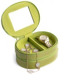 Bey-berk - Lizard Leather 2-level Jewelry Case - Lyst