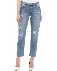 Joe's Jeans - The Kass Laurissa High-rise Slim Straight Ankle Cut - Lyst