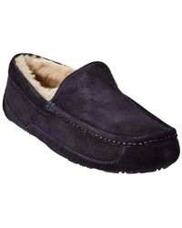 UGG Ascot Suede Slipper - Blue