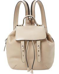 Mackage Bane Medium Leather Backpack - Natural