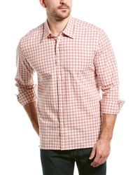 Dunhill Louis Woven Shirt - Red