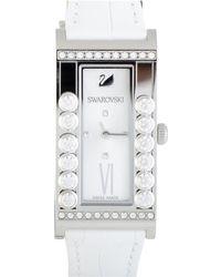 Swarovski - Women's Leather Watch - Lyst