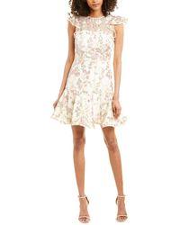 Monique Lhuillier Ml Mini Dress - Pink