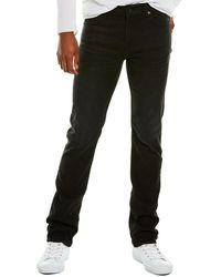 7 For All Mankind 7 For All Mankind Slimmy Huron Slim Leg Jean - Black
