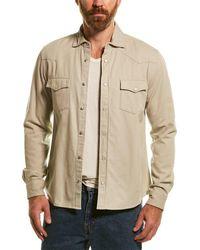 Reiss Bairstow Sage Overshirt - Green