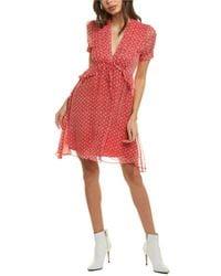 The Kooples Spring Liberty Midi Dress - Red