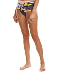 Trina Turk Bal Harbour Convertible Bikini Bottom - Purple