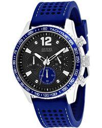 Guess Men's Fleet Watch - Blue