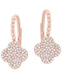 Sabrina Designs - 14k Rose Gold 0.32 Ct. Tw. Diamond Earrings - Lyst