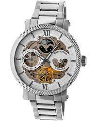 Heritor Men's Aries Watch - Metallic