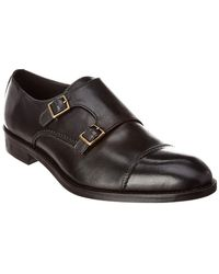 Gordon Rush - Leather Double Monk - Lyst