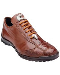 Belvedere Paulo Leather Sneaker - Brown