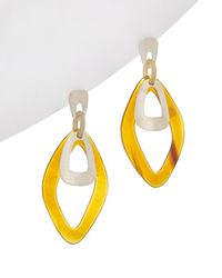 Chan Luu - Silver Horn Earrings - Lyst