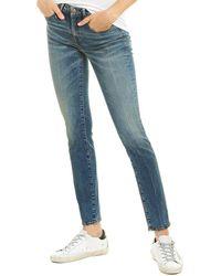 R13 Alison Kinsley Stretch Skinny Leg - Blue