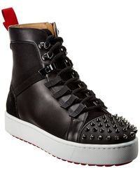 Christian Louboutin Smartic Leather Boot - Black