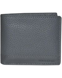 Samsonite Serene Rfid Leather Credit Card Billfold - Gray