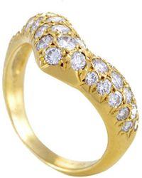 Heritage Van Cleef & Arpels - Van Cleef & Arpels 18k 1.20 Ct. Tw. Diamond Ring - Lyst