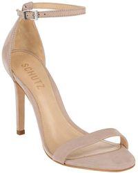 Schutz Cadey Lee Leather Sandal - Multicolour