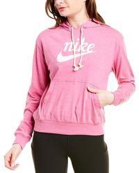 Nike Sportswear Gym Vintage Hoodie - Pink