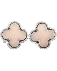 Van Cleef & Arpels 18k Opal Earrings - Multicolor