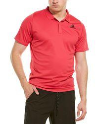 adidas Freelift Polo Shirt - Pink